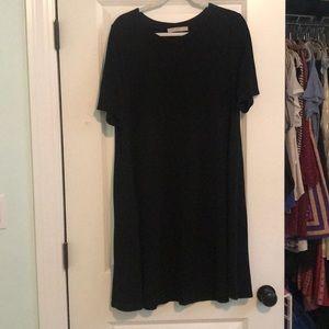 Cute and Comfy Black LOFT Dress